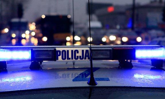 Policja - traktorzysta
