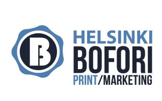 Bofori logo cmyk print marketing