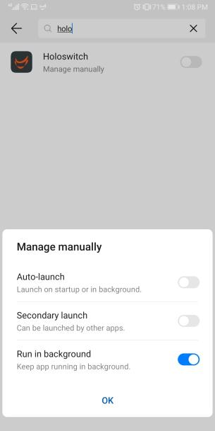 images that show settings to manually manage the battery settings and apps that run in the background
