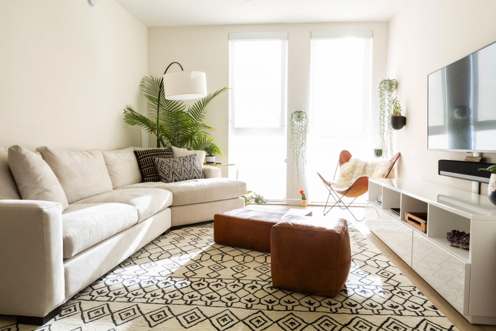 25 Small Living Room Ideas Maximize, Apartment Furniture Layout