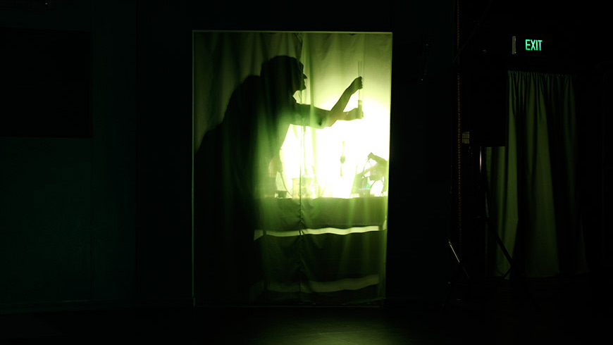 A scene from the Melbourne Shakespeare Company's 2011 production of Hamlet