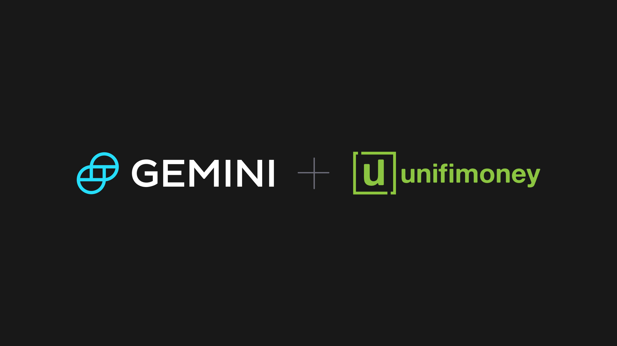 Gemini Now Integrated With Unifimoney