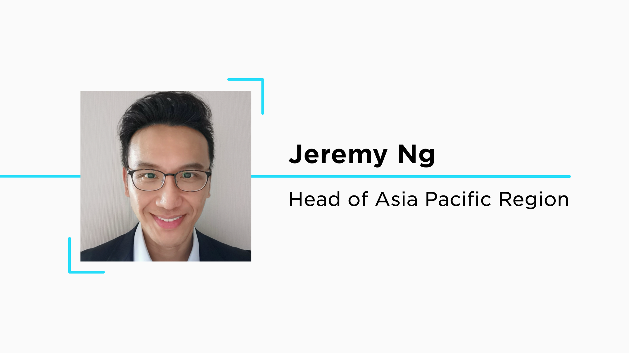 Gemini Welcomes Jeremy Ng as Head of Asia Pacific Region