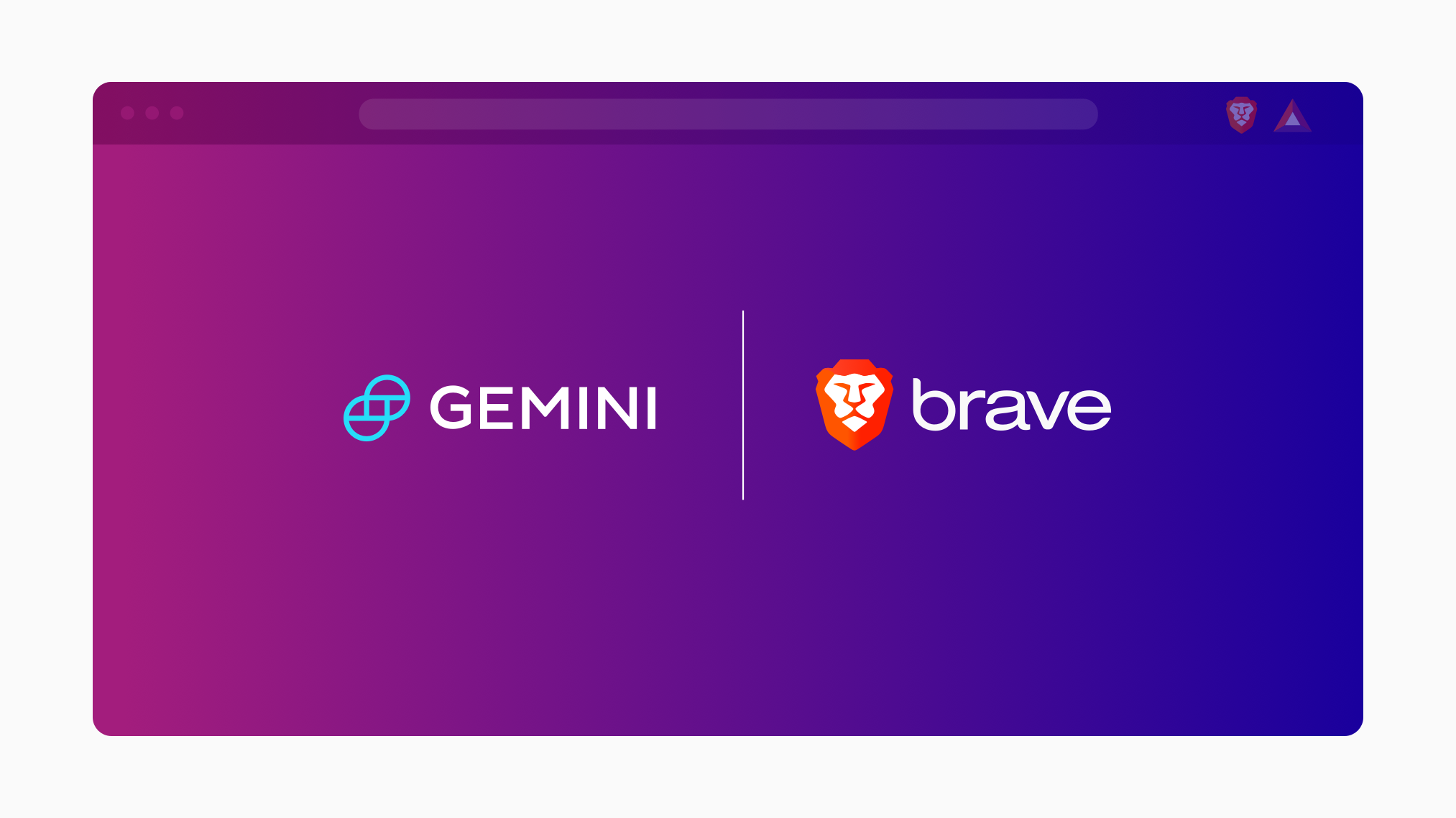 Gemini Trading Widget Now Available to Brave Desktop Users