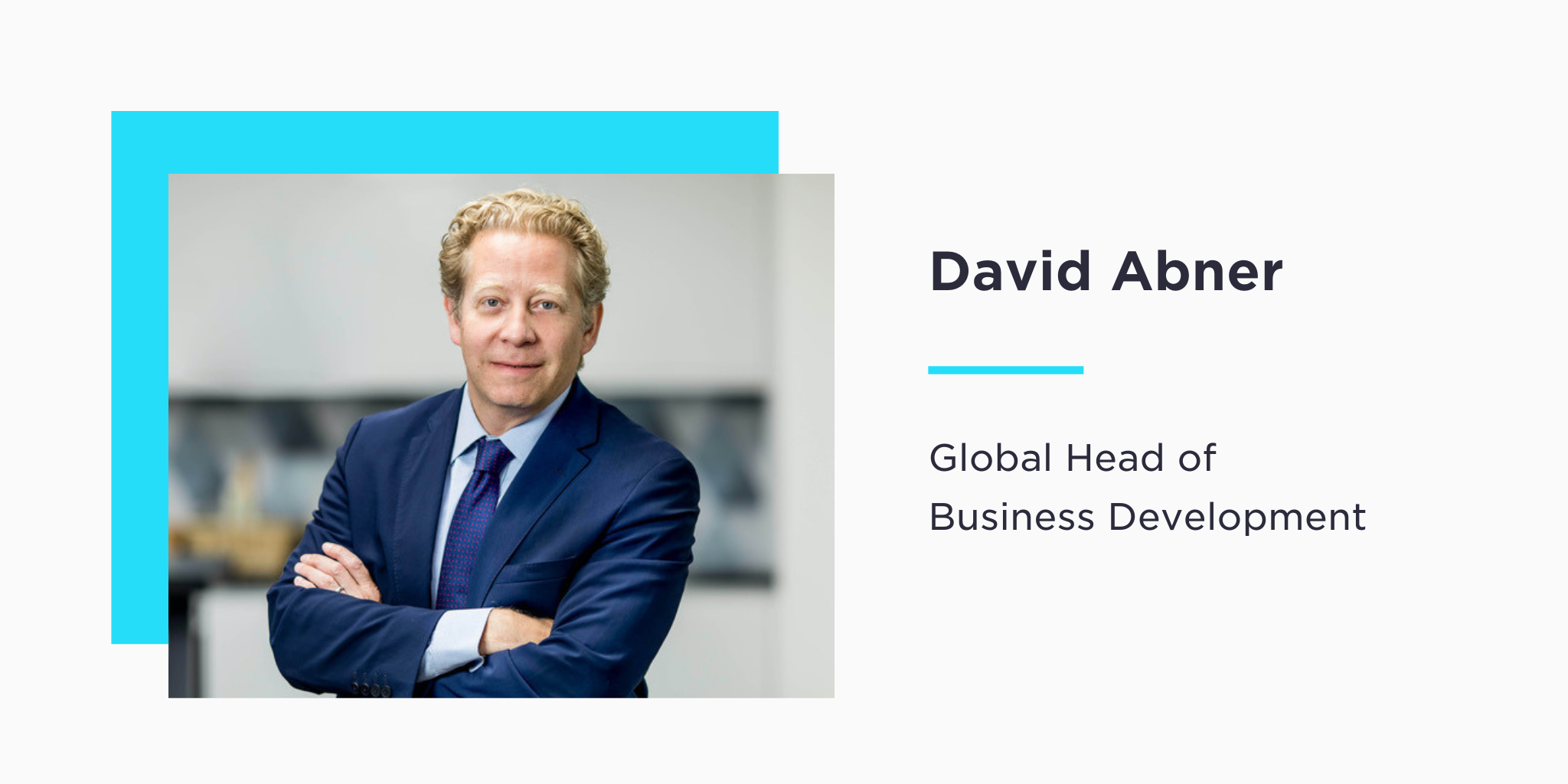 Gemini Welcomes David Abner as Global Head of Business Development