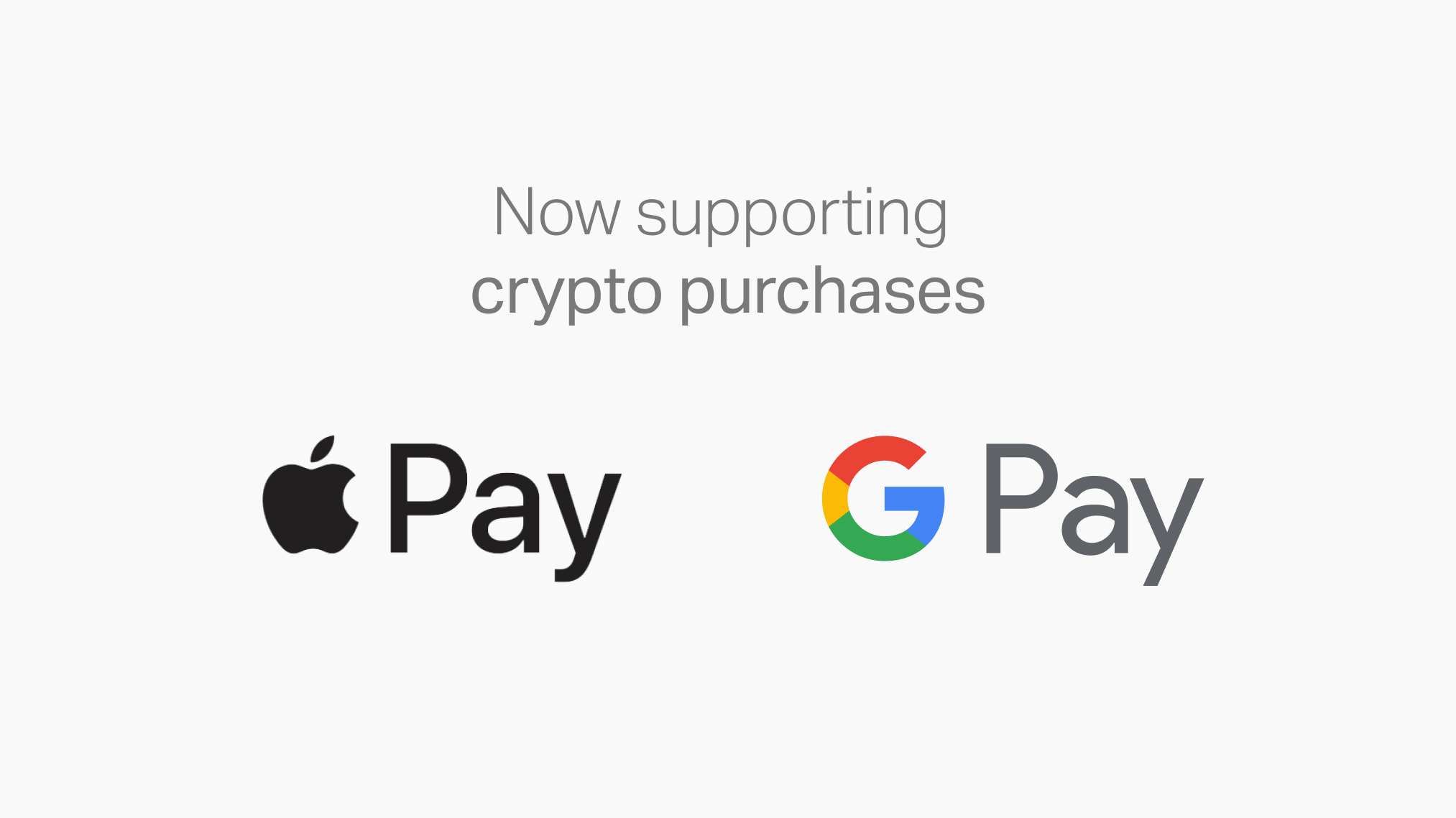 Gemini Now Supports Apple Pay and Google Pay | Gemini