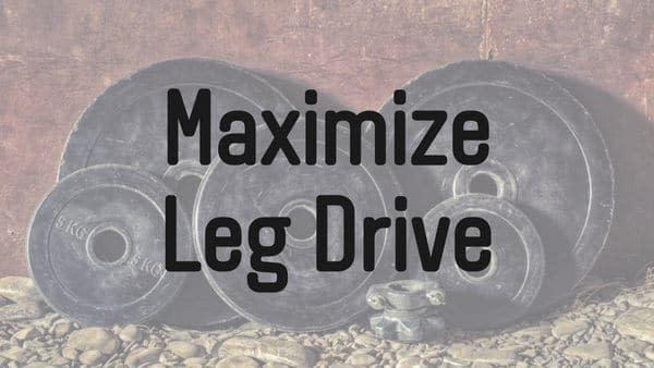 ベンチプレスのレッグドライブを最大化する方法 | 筋トレ研究所