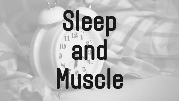 睡眠不足は筋肥大に悪い?睡眠と筋肉回復に関する研究 | 筋トレ研究所