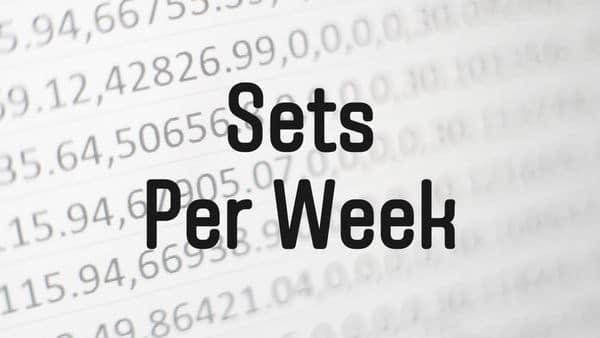 【最低10セット?】筋肥大に必要な1週間のセット数についての研究と考察 | 筋トレ研究所