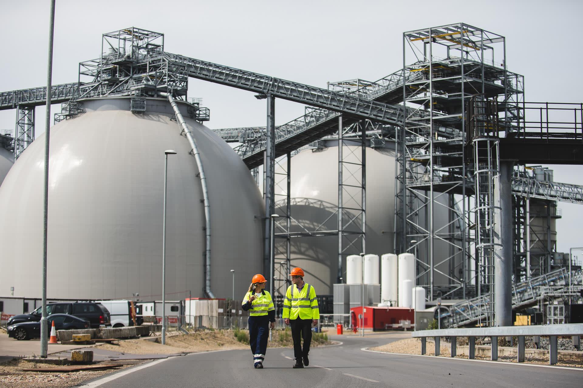 Drax biomass domes