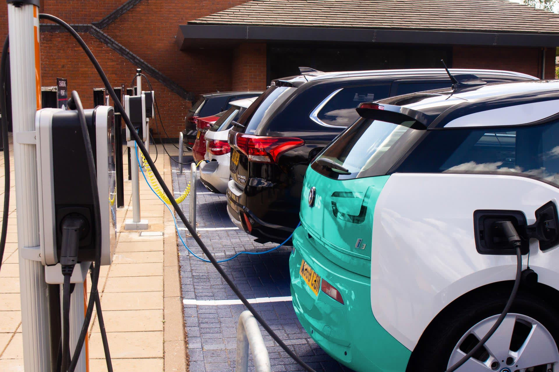 We used electric vehicles to save 11.5 tonnes of CO2 emissions