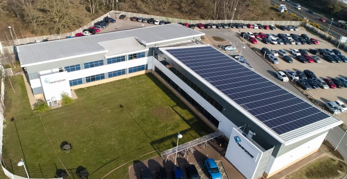 Haven office aerial