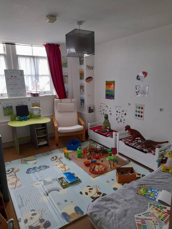 Sandrine's tiney home nursery - setting image