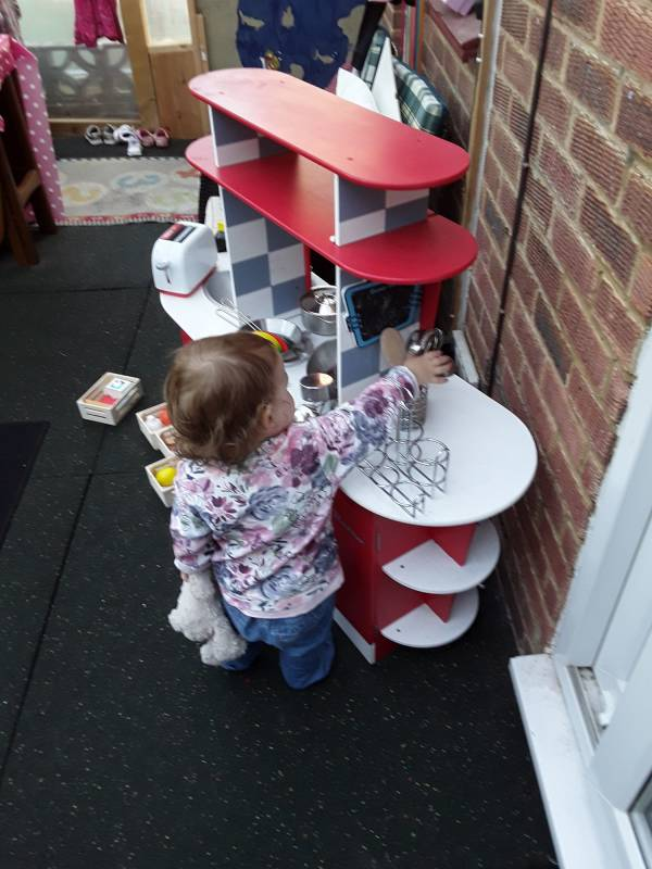 Debbie's tiney home nursery - setting image