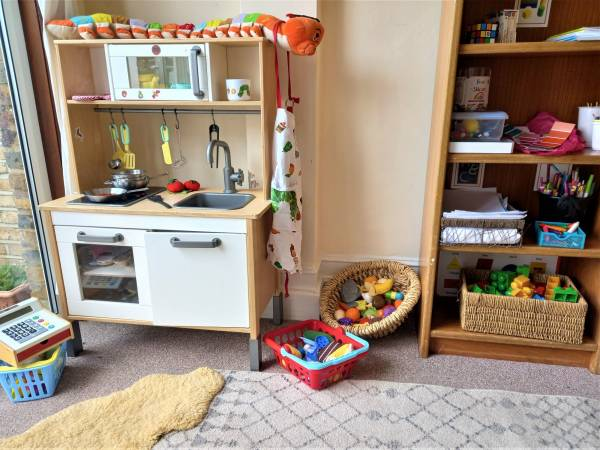 Claire's tiney home nursery - setting image