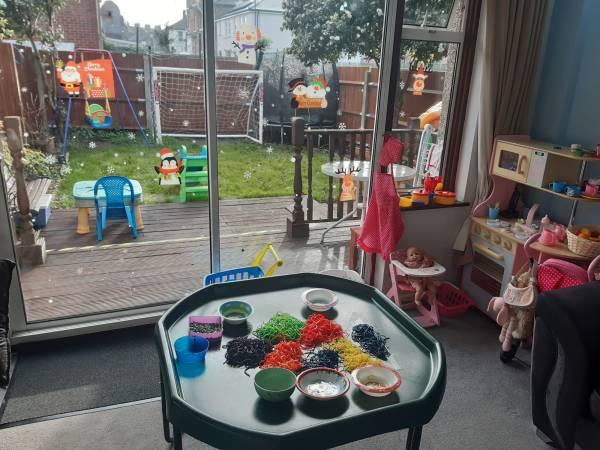 Maggie's  tiney home nursery - setting image
