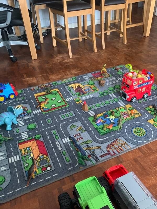 Rosebud  tiney home nursery - setting image