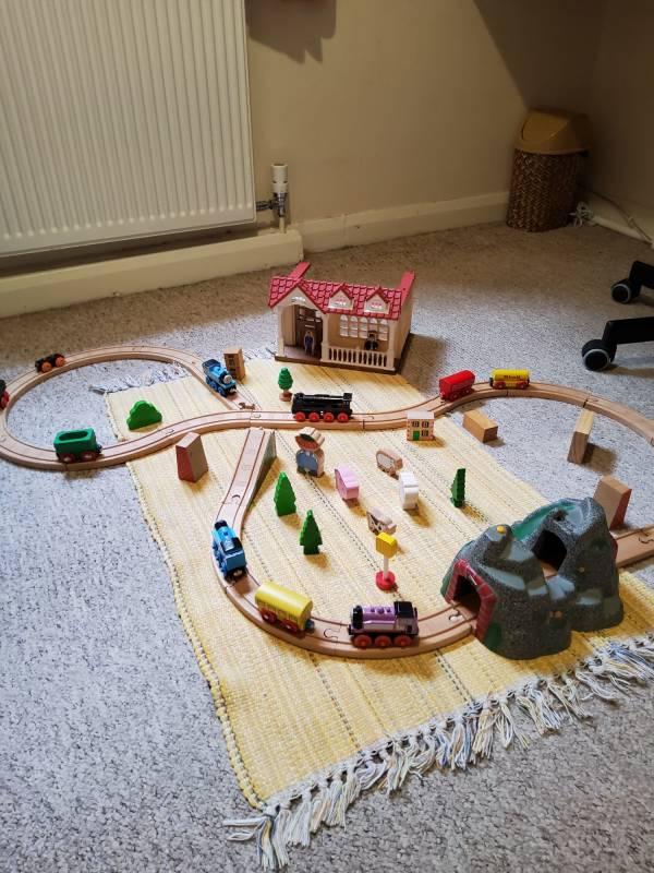 Diana's tiney home nursery - setting image