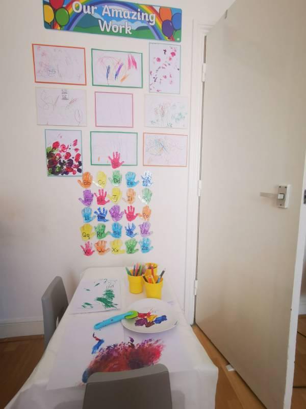 Kays tiney home nursery - setting image