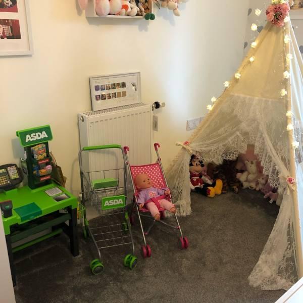 Bianca's tiney home nursery - setting image