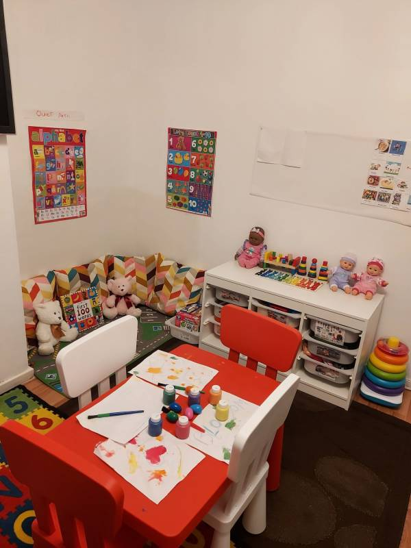 Blossom tiney home nursery - setting image