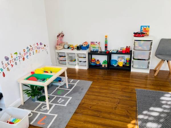 Mesha's Little Love Bugs  tiney home nursery - setting image