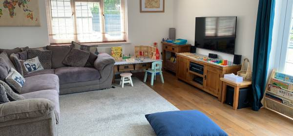 Esther's tiney home nursery - setting image