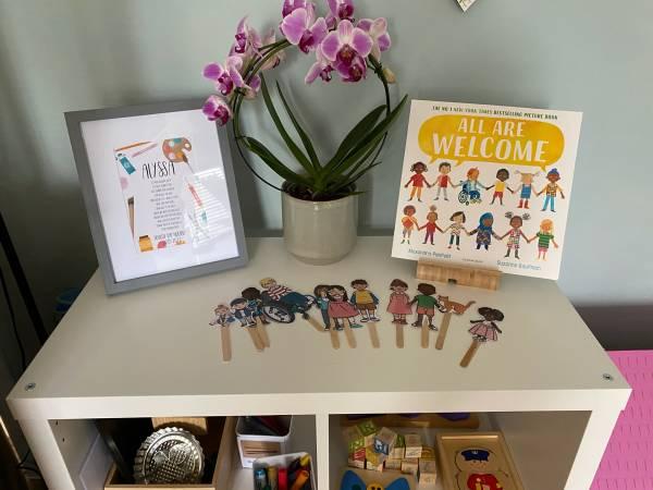 Mini Marvels tiney home nursery - setting image
