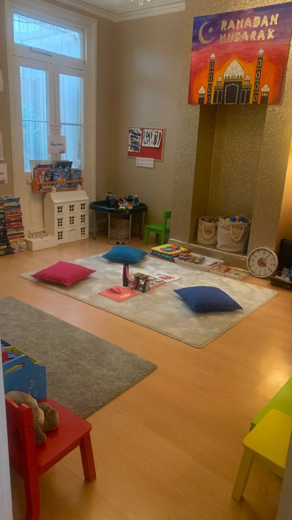 Learn and Play tiney home nursery - setting image