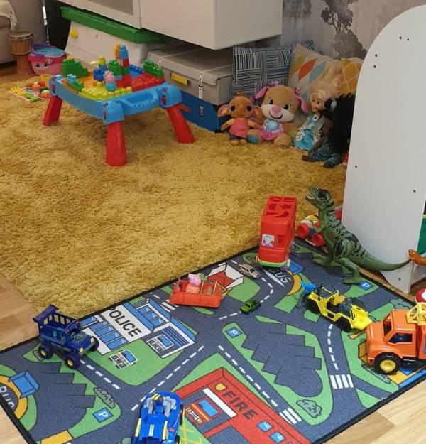 Tigi's Angel's  tiney home nursery - setting image
