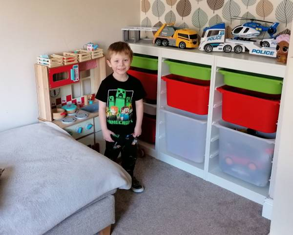 Jay Jay's tiney home nursery - setting image