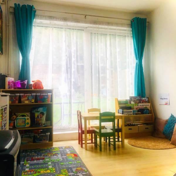 Robynn's tiney home nursery - setting image