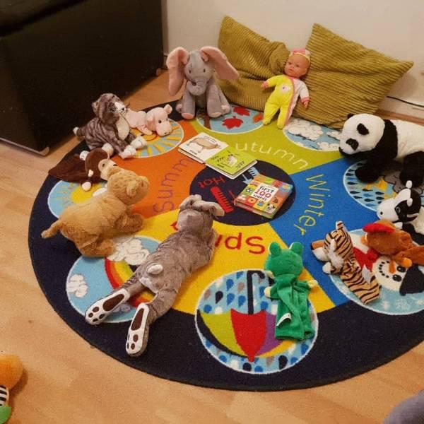 Lucy's tiney home nursery - setting image