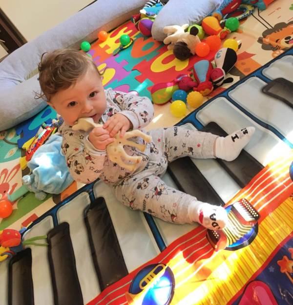 Bright Stars  tiney home nursery - setting image