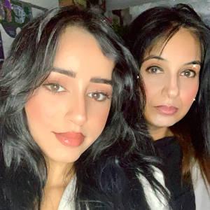Romana and Ramisha Kiyani