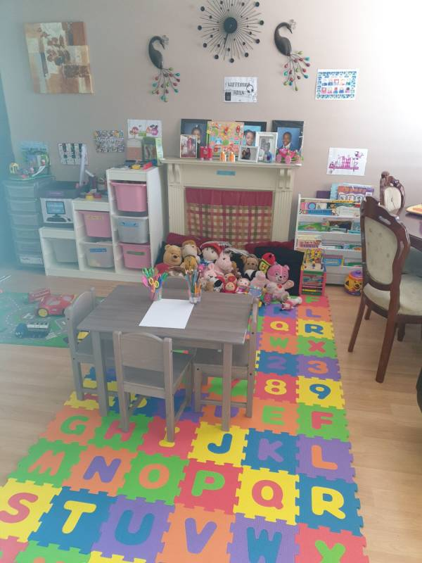 Stacy's learn and play  tiney home nursery - setting image