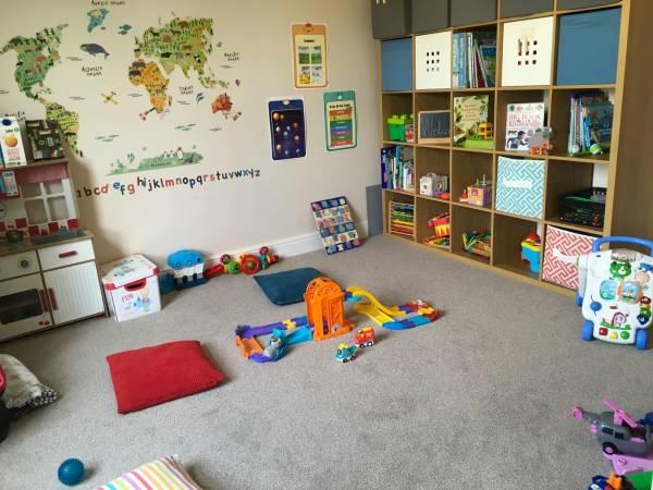 Jude's tiney home nursery - setting image