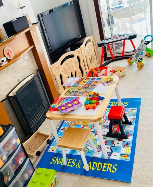 Creative Little Teddies tiney home nursery - setting image