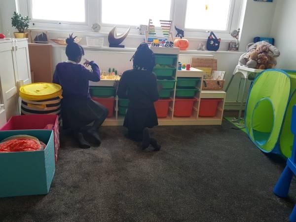Franklin's tiney home nursery - setting image