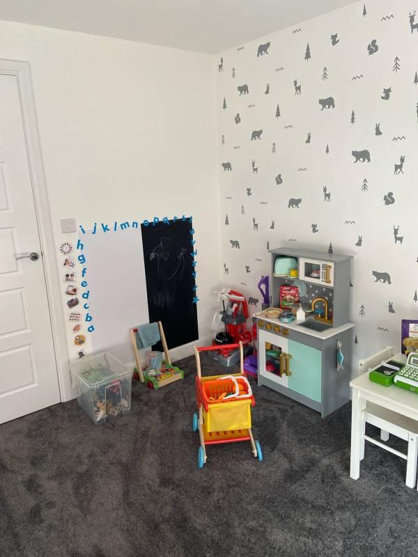 Sarah-Jane McLean tiney home nursery - setting image