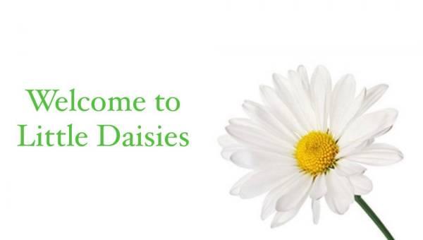 little daisies  tiney home nursery - setting image