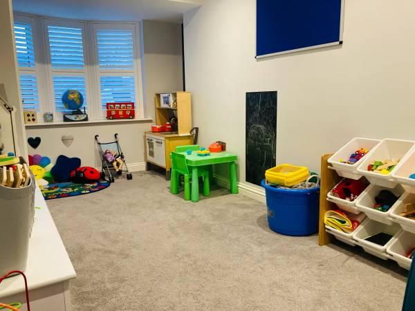 Tiny Minds  tiney home nursery - setting image