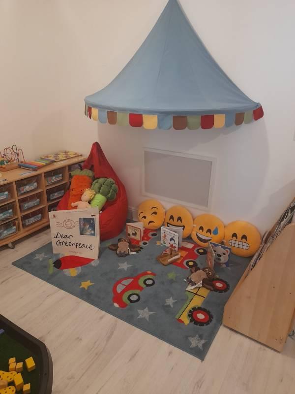 Active2Learn tiney home nursery - setting image