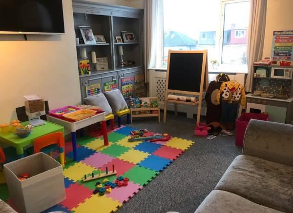 Teddy's tiney home nursery - setting image