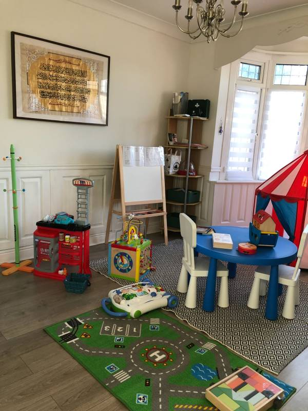 Nina's  tiney home nursery - setting image
