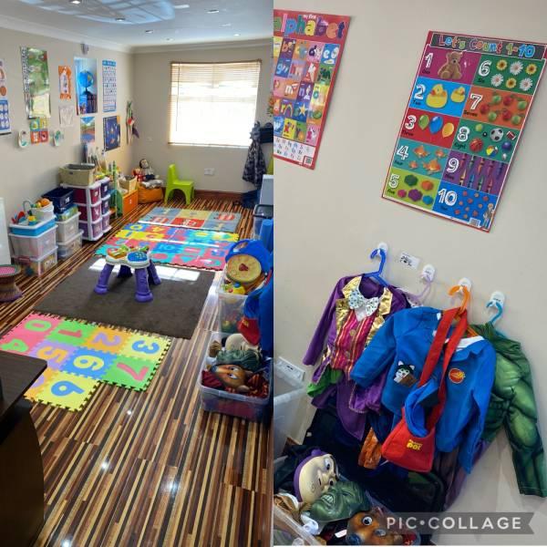 Nessa's tiney home nursery - setting image