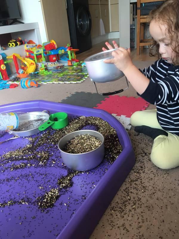Aunty Sara's  tiney home nursery - setting image