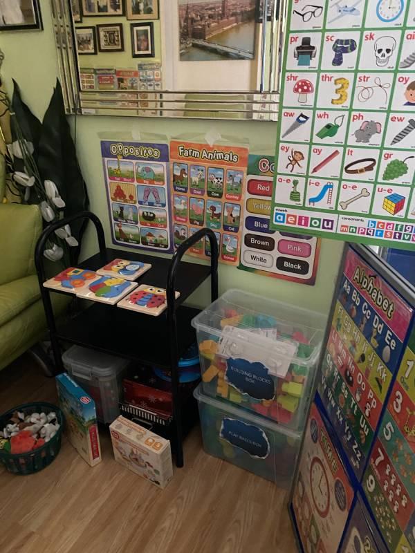 Lovender's tiney home nursery - setting image
