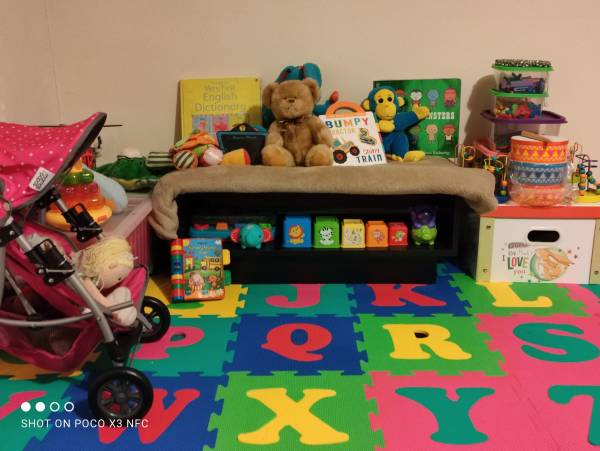 Little Cubs tiney home nursery - setting image