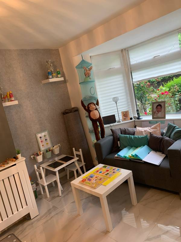 Miracles Day Care tiney home nursery - setting image